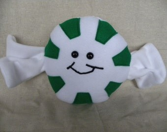 Minty Mint - candy - Pillow - Plush - humor