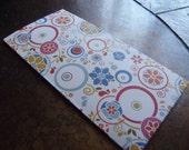 Floral Twirl Traveler's Journal 2 Pocket Folder- Regular