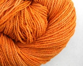 Mohonk Hand Dyed sport weight NYS Wool 370 yds 4oz Carrot Juice