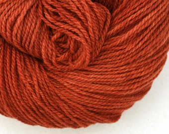 Mohonk Hand Dyed sport weight NYS Wool 370 yds 4oz Cinnabar