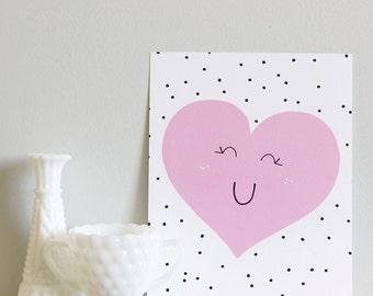 Sweet Heart - Art Print