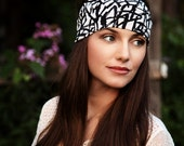 Womens Head Bands, Black White Headband, Adult Head Bands, Womens Headband, Cute Headbands, Stretchy Headband, Hair Accessories, Adults