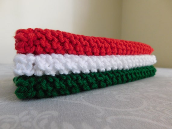 Pizzeria Dishcloth Trio