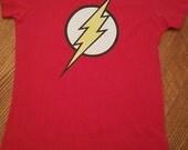 The Flash superhero Logo tshirt or creeper
