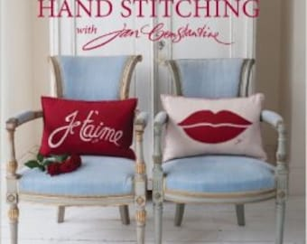 SALE - For The Love Of Hand Stitching - By Jan Constantine - 16.99 Dollars