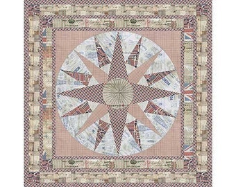 Eclectic Elements- Tim Holtz-Correspondence One Quilt Kit