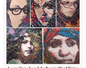 Your Portrait in Embroidery