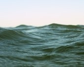 Abstract Ocean Wave Photograph - Intimate Water Seascape - Within Waves 9