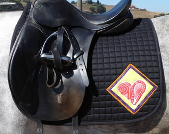 Be Valiant with this Dressage Saddle from The Heart Collection Pad HD-61