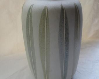 Scheurich Leaf Vase - Made in Germany Ceramic Modern Large Woodland Design