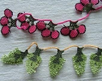 Cherry + pine tree form oyas
