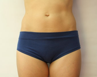 set of three bamboo jersey panties / bamboo underwear / made to order / by replicca / size S to XL / your choice of colour