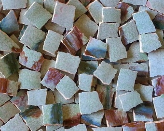 Mosaic Tiles-- Laguna Glaze/Pottery --100 tiles--Sale
