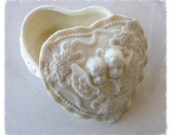 Valentine's Day Decoration Small Vintage Trinket Box Valentine Ornament  Valentine gift TVAT