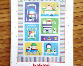 BABIES Amy Bradley Designs Quilt Pattern Two Styles