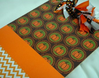 CLEARANCE Sale PUMPKIN CLIPBOARD