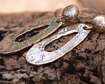 Artisan Handcrafted Sterling Silver Dangle Earrings, My Favorite Earrings