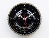 bicycle parts gift, bike parts clock, Bike Gear Clock, cyclist gift, boyfriend gift,  unique repurposed bike clock, Recycled Bike Gear Clock