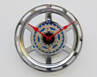 Recycled Bike Gear Guard Clock