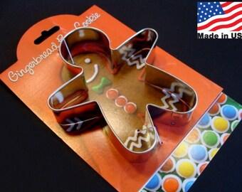 Gingerbread Boy Cookie Cutter by Ann Clark