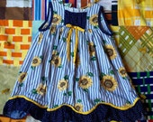 Sunflower Dress 3T