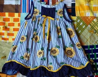 Sunflower Dress 3T