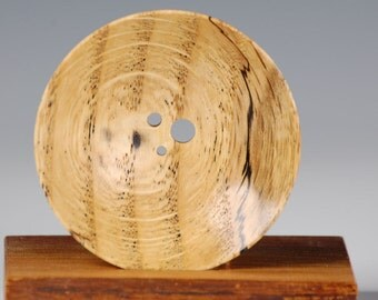Diz - three hole - Spalted Red Oak