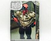 Sewn Comic Book Wallet - Deadpool Design 25