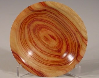 Exotic Tulipwood Ring Dish Wood Bowl number 6035 turned by Bryan Tyler Nelson is Nelsonwood