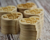 Rustic Wooden Wedding Favors Set of 100
