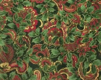 Fabric Christmas Paisley - 2 2/3 yards