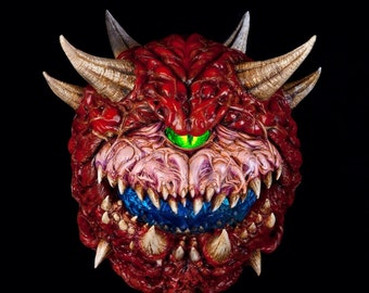 Reserved for Allen: Light Up Cacodemon Lamp with display base