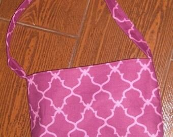 Wine lattice toddler purse