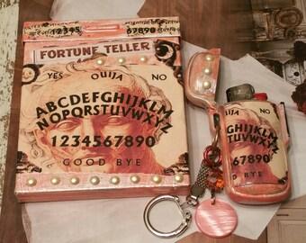 GypsyFortune/ Cigarette /Bic Lighter Case