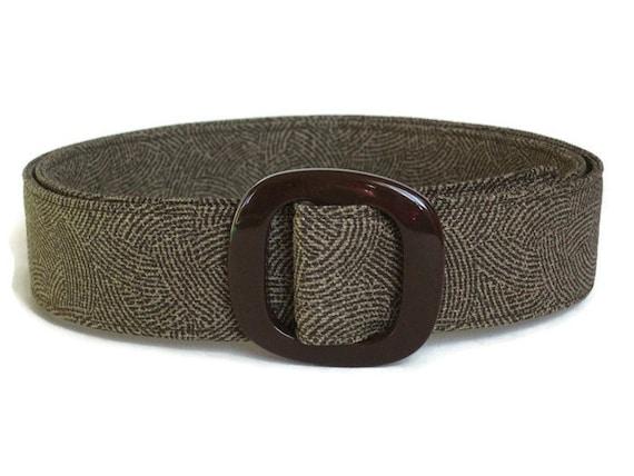 brown belt s fabric belt wide belt for