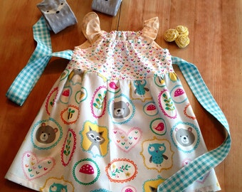 Happy Campers dress
