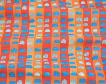 Brush Marks in Orange from the Valencia Collection by Laura Gunn for Michael Miller Fabrics - fabric by the quarter yard