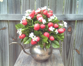Strawberry Arrangement,Summer Arrangement,Arrangements, Spring Arrangement,Strawberries