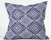 Shakami Denim Throw Pillow