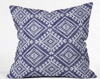 Shakami Denim Throw Pillow