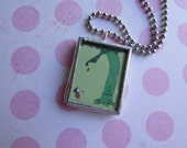 The Giving TREE book charm necklace pendant SALE