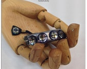 Private Listing for MArilyn | Luceo Hand Sewn Vintage Jewelry Silk Bracelet