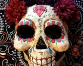 Day of the dead girl mask