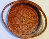 Beautiful Turn-of-century Miniature Basket or Tray
