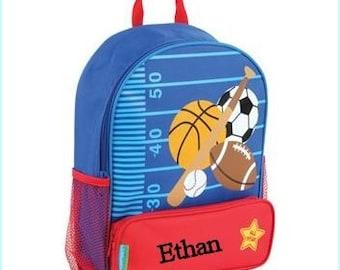 Toddler backpack - monogram backpack - personalized toddler backpack - backpack diaper bag - Sports Backpack -  Back to school backpack –
