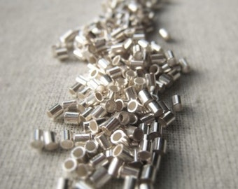 Jewelry Finding Sterling Silver 2x2mm Crimp Tube Crimp Item No. 1406 4529