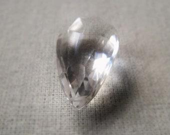 Gemstone Briolette Bead Crystal Quartz Teardrop Item  No. 6176