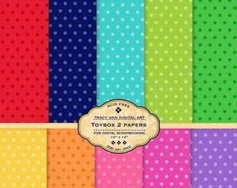 Toybox 2 Digital Paper Pack