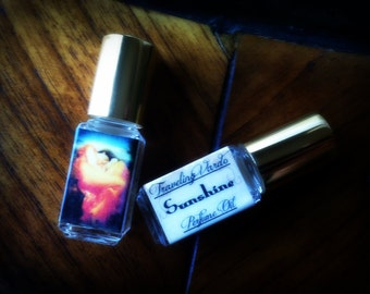 Sunshine Perfume Oil - Fruity Pink Grapefruit Perfume Oil Strawberry Perfume Kiwi Honeydew Peach Clementine