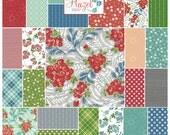 "Cluck Cluck Sew HAZEL Precut 5"" Charm Pack Fabric Quilting Cotton Squares Allison Harris Windham"